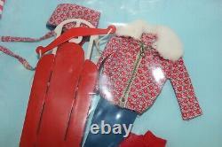Vintage Barbie Skipper Fashion Mint in Box Winter Fashion Lot komplett 60er