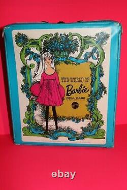 Vintage Barbie World of Barbie Case 1968 & Francie Barbie Lot 60er