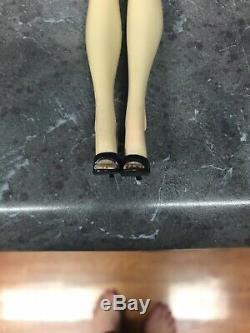Vintage Bathe Barbie Ponytail #3 Raven/dark Brown Hair