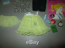 Vintage Bubble cut Barbie, Case and Clothing LOT
