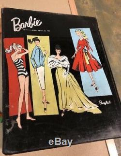 Vintage Lot 1959 1969 Barbie Ken 68 Skipper 1961 Case