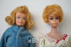 Vintage Lot 1960s Barbie Ken Midge Dolls Cases Clothes Fashion Booklets Japan