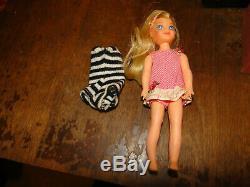 Vintage Lot of Barbie Clothes Purses Dresses Hats Tops Bottoms Bags Doll BOX