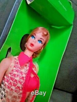 Vintage MIB 1960's Auburn Hair Talking Barbie Doll (MUTE)