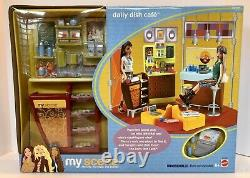 Vintage Mattel Barbie My Scene Daily Dish Cafe Play Set New In Sealed Box Mint