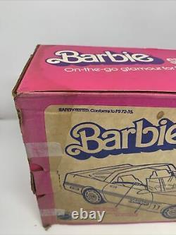 Vintage Mattel Barbie Silver' Vette #4934 1983 NRFB