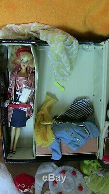 Vintage Ponytail Barbie #3 Roman HOliday Clothing Case Huge LOT RARE #2 BODY