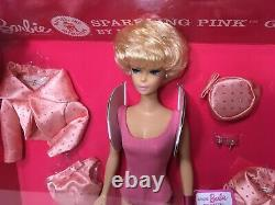 Vintage Reproduction Barbie Sparkling Pink Gift Set NRFB Mint 50th Anniv