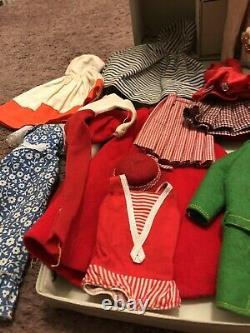 Vintage Skipper Case Clothes Lot