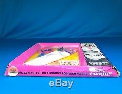 Vintage Twiggy Doll Twiggy Gear Fashion #1728 Barbies Friend NRFB Mint In Box