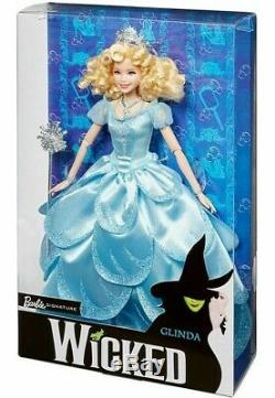 WICKED BARBIE DOLL WITCH GIFT SET ELPHABA and GLINDA FJH61